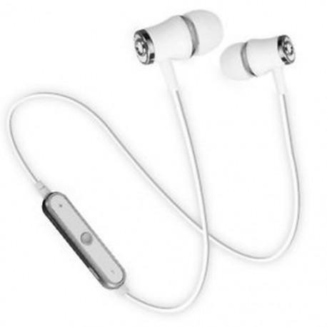 Ezüst HIFI vezeték nélküli Bluetooth Super Bass Headset Sport fejhallgató fülhallgató