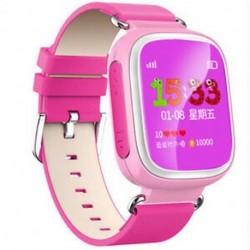 Rózsaszín Anti-lost Kids Biztonságos GPS Tracker SOS Call Smart Watch csukló Android IOS Hot