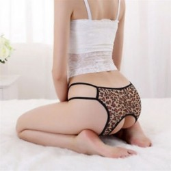 * 3 Brown Leopard egy rendszeres s ... Forró szexi női tanga G-string V-string bugyi Knickers fehérnemű fehérnemű