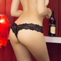 * 17 BLACK normál méretű Forró szexi női tanga G-string V-string bugyi Knickers fehérnemű fehérnemű