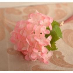 * 2 Pink Virág csokor mesterséges selyem rózsa virág menyasszonyi esküvői fél váza dekoráció