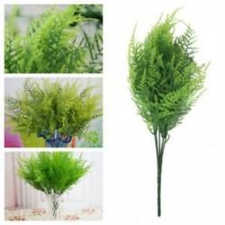 * 6 Zöld Virág csokor mesterséges selyem rózsa virág menyasszonyi esküvői fél váza dekoráció