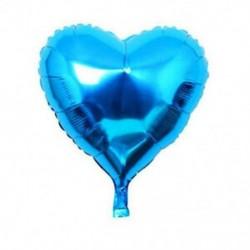 * 4 5PCS kék szív 10X 2019 Boldog új évet Latex léggömb karácsonyi születésnapi esküvői party dekoráció
