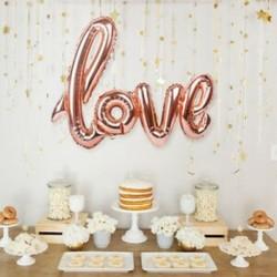 * 5 1PC 42 &quot Rose Gold Love 10X 2019 Boldog új évet Latex léggömb karácsonyi születésnapi esküvői party