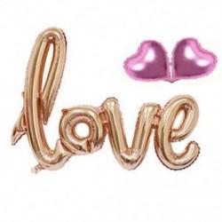 * 6 1 Állítsa be a Love Letters Heart-t 10X 2019 Boldog új évet Latex léggömb karácsonyi születésnapi esküvői party