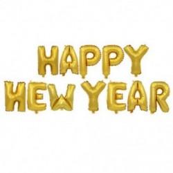* 8 Boldog új évet (arany) 10X 2019 Boldog új évet Latex léggömb karácsonyi születésnapi esküvői party dekoráció