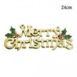 1db 24cm-es Boldog Karácsonyt felirat - Karácsonyi dekoráció - 23