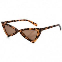 LEOPÁRD Vintage női háromszög macska szem napszemüveg divat anti-UV szemüveg Retro szemüveg