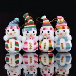 1db 12x7cm-es hóember - Karácsonyi dekoráció - 1