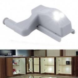 Fehér szekrény csuklópánt LED-érzékelő fény szekrényes szekrényes otthoni konyhai szekrényhez