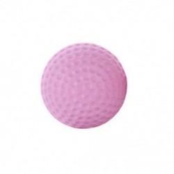 Rózsaszín 2PCS gumi fali védőburkolatok Önálló ragasztóajtós fogantyú fogantyú lökhárító