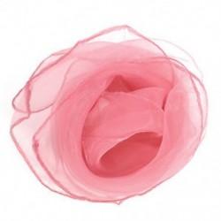 Rózsaszín Vintage 50-es évek díszes sifoncsomagolás haj fej nyak nyakkendő Super könnyű nyak sál ajándék