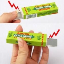Vicces elektromos sokkoló rágógumi játék ajándék sokk joke Gadget tréfa trükk gag