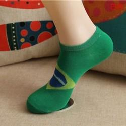 BR Divat férfi női boka zokni alacsony vágású személyzet alkalmi sport szín pamut zokni 1Pair