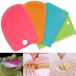 3db műanyag tészta jegesedés fondant kaparó sütés tészta sütemény díszítő eszközök