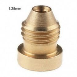 1,25 mm-es Hab Cannon Orifice Fúvóka Tippek Menetfúvóka 1.1 / 1.25mm Hóhab Lance számára