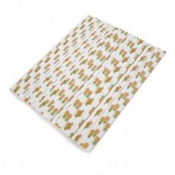 25 PCS A papírszalagok tapadása 25PCS fél ivás papír szalma baba zuhany Favor Summber Beach születésnapi dekoráció