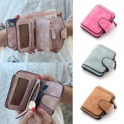 1 db női pénztárca kártyatartó barna rózsaszín