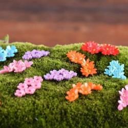 10db miniatűr moha virág tündér kert gyanta mikro táj dekor kézműves