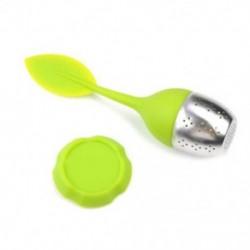 Zöld Tea infuser laza tea levél szűrő szilikon gyógynövény fűszer szűrő diffúzor lab P