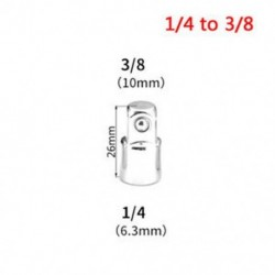 1/4 - 3/8 1PC 1/4 &quot 3/8&quot  1/2 &quot golyószár Ratchet aljzat adapter reduktor átalakító eszköz Hot
