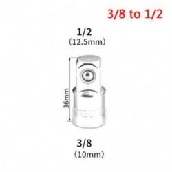 3/8 - 1/2 1PC 1/4 &quot 3/8&quot  1/2 &quot golyószár Ratchet aljzat adapter reduktor átalakító eszköz Hot