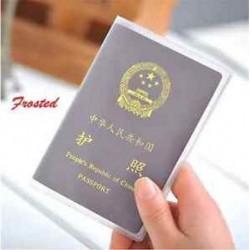 Tiszta Matta Utazási útlevél-azonosító Hitelkártya-fedél birtokosa Protector Szervező Bőr Új