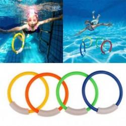 Gyerekek a víz alatti úszómedencék tartozékai Búvárgyűrűk Childern Water Play játékok