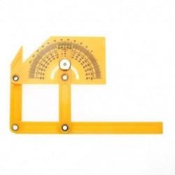 Rugalmas többszögű vonalzó kalibrációs szögmérő kereső 180 ° -os mérőeszköz Új