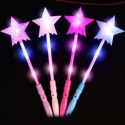 Gyerek játékcsillag LED fénysugarak Villogó akkumulátoros halloween fesztiválok
