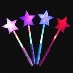 Csillag LED-es lámpa botok villogó akkumulátoros gyerek gyerek Halloween fesztiválok dekoráció