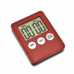 fehér Mágneses nagy LCD digitális konyhai főzési időzítő Count-Down Up Clock Alarm Hot