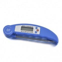 Kék Azonnali digitális olvasás Élelmiszer szonda konyhája Főzés Hús BBQ hőmérő hőmérséklet