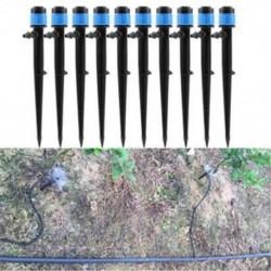 10db 360 ° -os kert otthon Vízpermet szórófej Sprinkler Dripper öntözőrendszer JP
