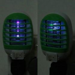 US Plug LED elektromos szúnyog repülni pesti bogár rovarcsapda Zapper gyilkos éjszakai lámpa
