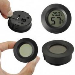 Digitális LCD beltéri / kültéri hőmérő higrométer hőmérséklet páratartalom mérő
