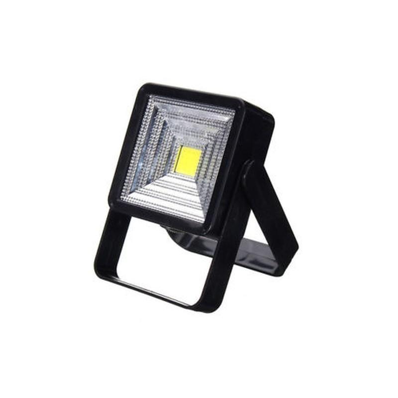 403e276a80e2 Fekete 15W hordozható napelemes LED újratölthető lámpa kültéri kemping  udvari lámpa