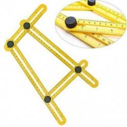 Funkció Szög-Izer végső csempe és padló sablon eszköz többszögű vonalzó 1db