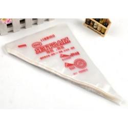 S 275 * 170 mm Tömeges 100db eldobható jegesedési csövek Cake tészta Cupcake díszítő táskák 3 méretben