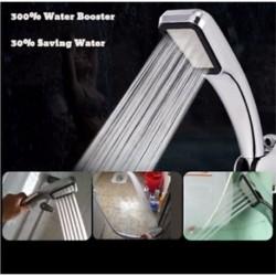 300 lyuk nagynyomású zuhanyfej Erőteljesen növeli a fürdő vízzel történő megtakarítását