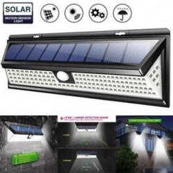 1 Pack-118 LED 48/90/144 LED napelemes tápegység Kerti lámpa Spotlight gyep tájképek vízálló