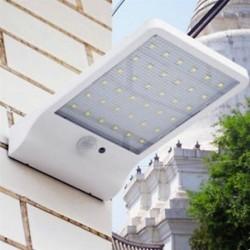 1 Pack-30 LED (fehér) 48/90/144 LED napelemes tápegység Kerti lámpa Spotlight gyep tájképek vízálló