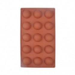 15 Félgolyó 1 x félgömb gömb szilikon torta öntő muffin csokoládé cookie sütés penész serpenyőben