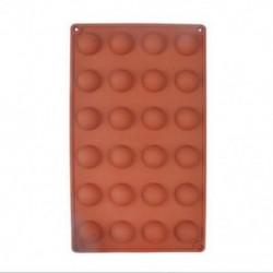 24 Félgolyó 1 x félgömb gömb szilikon torta öntő muffin csokoládé cookie sütés penész serpenyőben