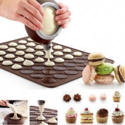 Szilikon Macaron sütés díszítő toll tészta krém torta muffin 3 fúvóka készlet J6P