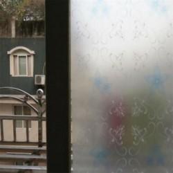 Krizantém 45 * 200CM vízálló matt védettségű hálószoba fürdőszoba üvegablak fólia matrica
