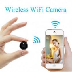 Mini 1080P kémkamera vezeték nélküli Wifi IP biztonsági videokamera HD DV DVR éjszakai látás