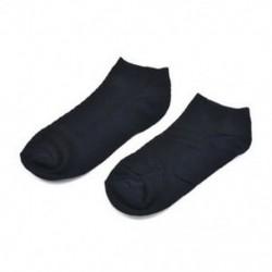 Navy Blue (rövid) Férfi bambusz rostos harisnya Zokni Business Toe Boot Cotton alkalmi munka zokni