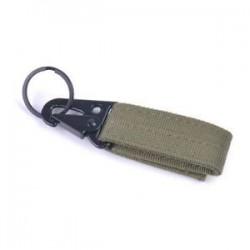 keki zöld Új szabadtéri kemping felszerelés Karabiner katonai csat vadászati felszerelés zár
