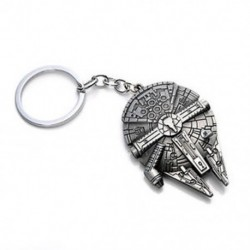 Millennium Falcon Csillagok háborúja Millenium Falcon Csillagmegőrző Fém kulcstartó kulcstartó kulcstartó